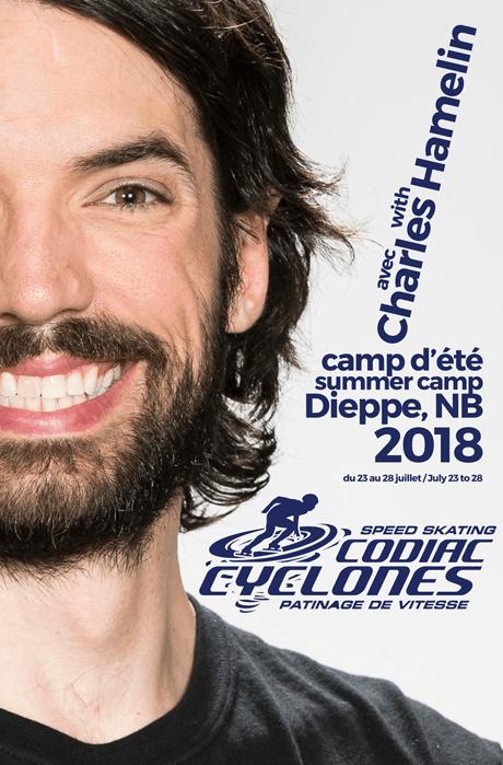 Charles Hamelin - Camp d'été patin de vitesse